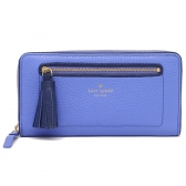 wlru2654 chester street neda pebbled leather zip around wallet