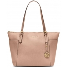 30f4gttt9l jet set large top-zip saffiano leather tote shoulder bag