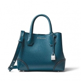 30h7gz5t1t mercer gallery small pebbled leather satchel bag