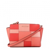selma medium leather patchwork crossbody