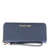 32s5gtve9l-navy jet set travel leather continental wristlet blossom