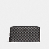 13677 accordion zip wallet in legacy jacquard