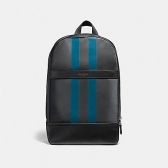22374 charles slim backpack with varsity stripe