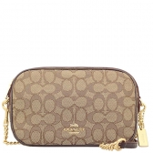 28959 isla chain crossbody in signature jacquard