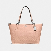 28558 ava tote in signature leather