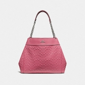 49336 lexy chain shoulder bag in signature leather