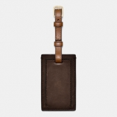 61921 leather bleecker legacy small luggage tag