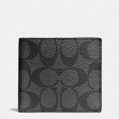 75083 signature double billfold wallet