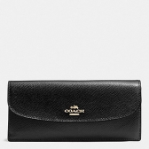 54008 crossgrain leather soft wallet