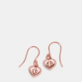 54489 turnlock heart wire earring