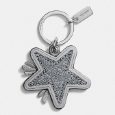 64350 star canyon glitter key fring
