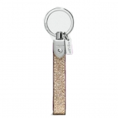 64759 glitter loop key ring