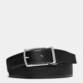 64826 modern harness cut-to-size reversible textured leather belt