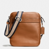 71723 smooth leather flight bag