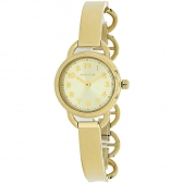14502114 dree ss case & bracelet gold ton watch
