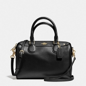 57521 crossgrain leather mini bennett satchel