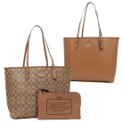 36658 signature reversible city tote