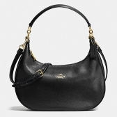 38250 harley pebble leather east/west hobo