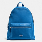 38288 charlie pebble leather backpack