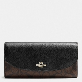 54022 slim envelope wallet in signature