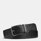 55157 wide harness cut-to-size reversible signature leather belt