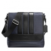 56666 bond small messenger in pebble leather