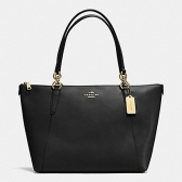 57526 ava tote in crossgrain leather