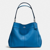 57545 lexy pebble leather shoulder bag