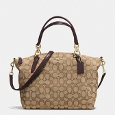 58283 small kelsey satchel in outline signature