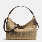 58284 east/west celeste convertible hobo in outline signature