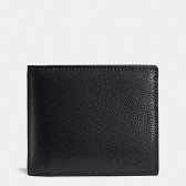 59112 crossgrain leather compact id wallet