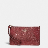 22705 boxed small wristlet with glitter star print