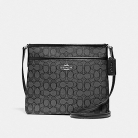 29960 file crossbody in signature jacquard