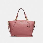 31077 small kelsey satchel with ditsy floral print interior