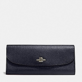 59949 soft wallet in crossgrain leather